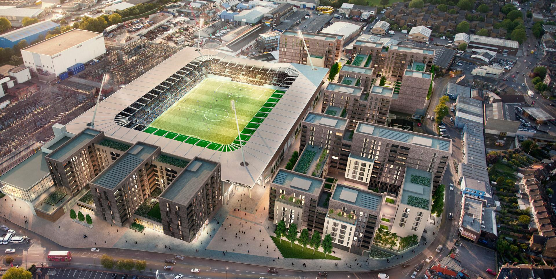 Wimbledon Grounds, Stadia Three, Galliard Homes, Catalyst Housing