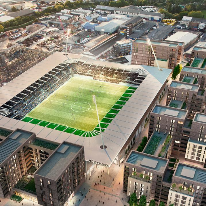 Wimbledon, South West London, Sports, Football, Regeneration, Property, AFC Wimbledon, Galliard Homes